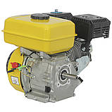 Двигатель бензиновый Кентавр ДВЗ-200Б  Двигатель на культиватор, генератор, мотопомпу., фото 3