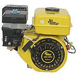 Двигатель бензиновый Кентавр ДВЗ-200Б  Двигатель на культиватор, генератор, мотопомпу., фото 5