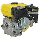 Двигун бензиновий Кентавр ДВЗ-210Б Двигун на культиватор, генератор, мотопомпу., фото 4