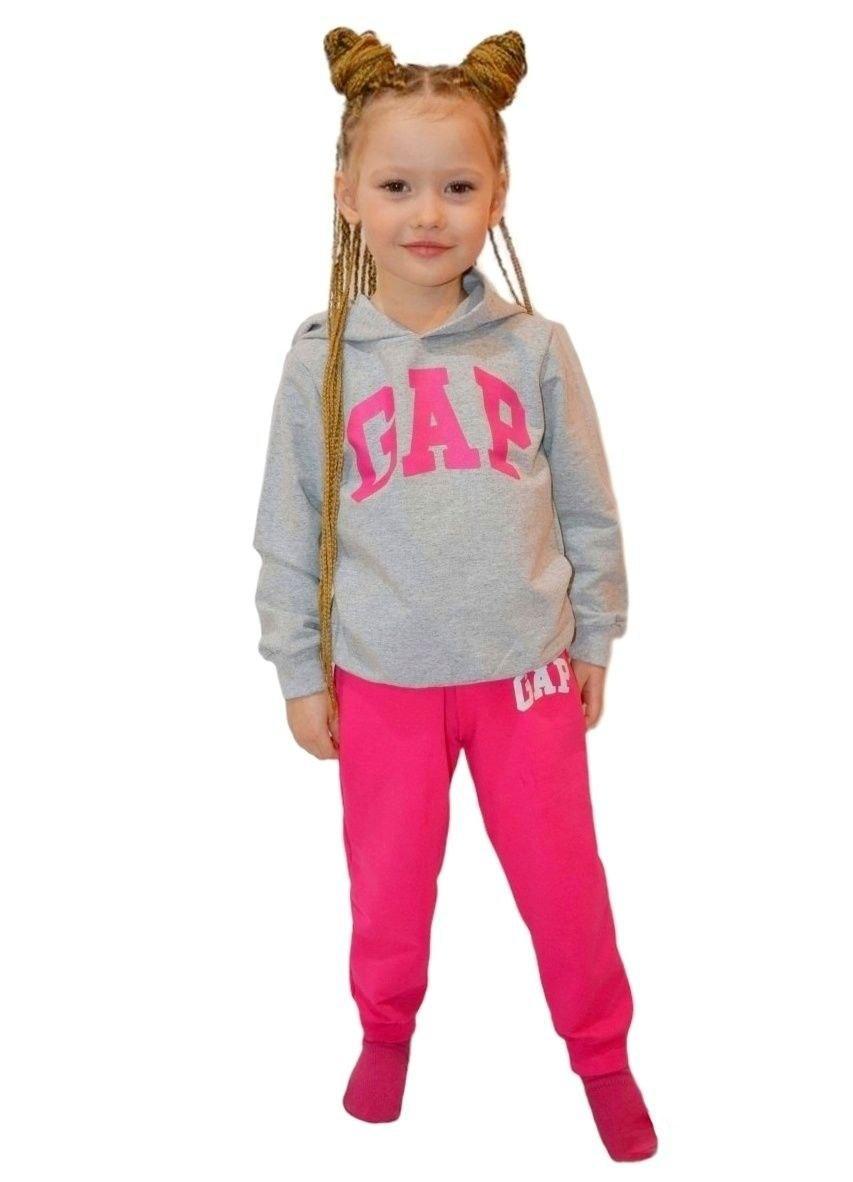 Костюм спортивний GAP з капюшоном для дівчинки