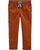 Однотонні поплінові штанці для хлопчика Картерс