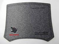 Килимок для комп'ютерної миші Wolf X-88, сірий, 25*29см, на гумовій основі, для всіх типів оптичних, фото 1