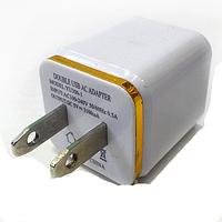 Мережевий адаптер GT-004-YU-300-1 2USB порту, 5В, 3,1 А, СЗУ, зарядний пристрій