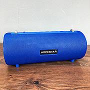 Портативная Bluetooth Колонка Hopestar H39 ОРИГИНАЛ беспроводная синяя