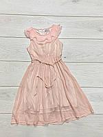 Длинное шифоновое платье для девочек. 4- года.