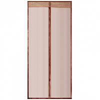 Антимоскитная сетка на двери 90х230