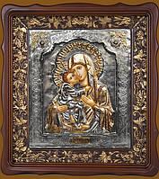 Эксклюзивные иконы. Икона Владимирской Божьей Матери 38 см * 33 см