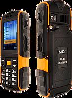 NO.1 A9, IP-67, 4800 мАч, 3 Mpx, мощный фонарь. Телефон с реальной защитой!