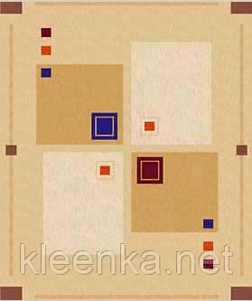 Клеёнка столовая Люкс на основе Абстрактные квадраты, фото 2