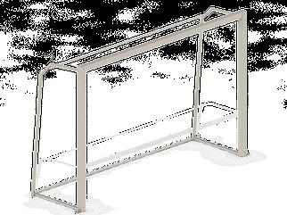 Ворота гандбольні C66