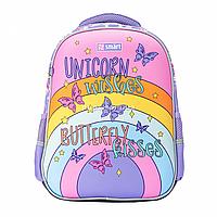 Рюкзак школьный SMART SM-02 UnicornSmart сиреневый (558183)
