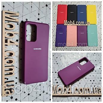 Брендовий чохол накладка Silicone Cover для Samsung Galaxy (Самсунг) А52
