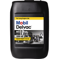 MOBIL DELVAC MX EXTRA 10W-40 (20л) Напівсинтетичне моторне масло
