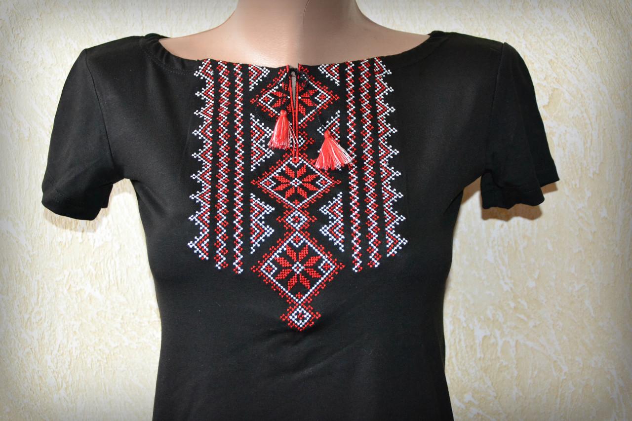 Жіноча вишита футболка. Модель Гуцулка  повний каталог виробника ... 52abf763d404c