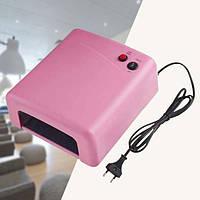 Лампа для наращивания ногтей ZH-818 36W Розовая