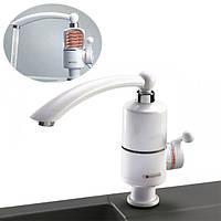 Проточный электро-нагреватель воды Instant Electric Heating Water Faucet RX-005 Белый