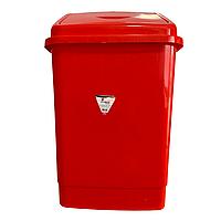 Ведро для мусора с поворотной крышкой BEM 5 литров красный