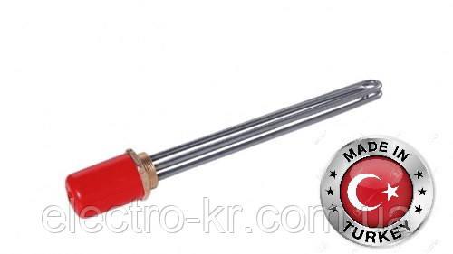 Блок тэнов 6000Вт крепление гайка латунная 2″ L=360mm Sanal, Турция