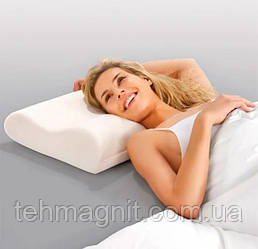 Ортопедична подушка з пам'яттю Memory pillow