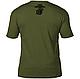 Футболка  патриотическая винтажная  - морские  силы США  7.62 Design USMC 'Retro'  цвет  олива  Battlespace, фото 2
