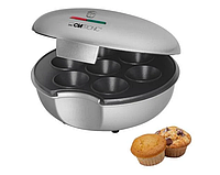 Электрическая бытовая кексница аппарат для выпечки маффинов и кексов 900 Вт Clatronic MM 3496