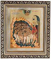 Икона «40-ка мучеников Севастийских» (багет,26х22)