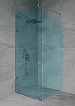 Перегородка в душову зі штангою прозора