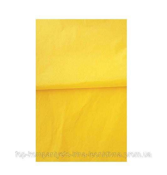 Папір тишею INTERDRUK (250 * 50) жовта №03 (10шт/уп)
