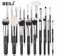 Профессиональный набор 20 кистей BEILI для макияжа лица
