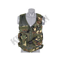 Разгруз. жилет Tactical Vest US Wodland