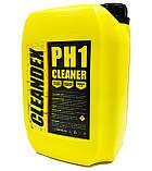 Кислотное средство для промывки теплообменников и водонагревательного оборудования CLEANDEX pH1, 5 л, фото 2