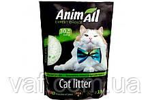 Силикагелевый наполнитель AnimAll Кристаллы изумруда для котов, 3.8 л (1.6 кг)