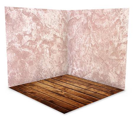 Вініловий 3 D фотофон дві стіни та підлогу № W004, фото 2