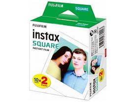 Фотобумага картридж Instax Square GLOSSY 2x10