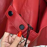 Куртка жіноча натуральна шкіра овчина, розмір С,М,Л, багато квітів., фото 3