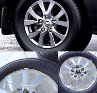 Диски колесные с резиной на Toyota Land Cruiser 200