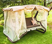 Садовые качели Grandis качель для сада, дачные качели, качели для дачи, качели для сада, летние качели, качели