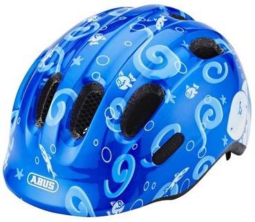 Велошлем детский ABUS Smiley 2.0 Blue Sharky, M (50-55 см)