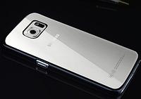 Пластиковый черный чехол для Samsung Galaxy S6, фото 1