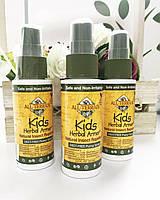 Натуральный спрей от комаров и насекомых для детей Iherb All Terrain 60 мл