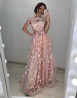 пышное платье в пол!