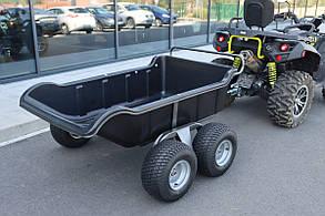 Прицеп для квадроцикла Shark ATV Trailer Garden 680kg 4 Колеса (Black)