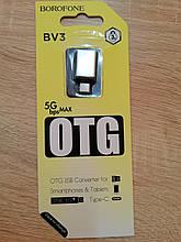 Переходник OTG Borofone BV3 Type-C