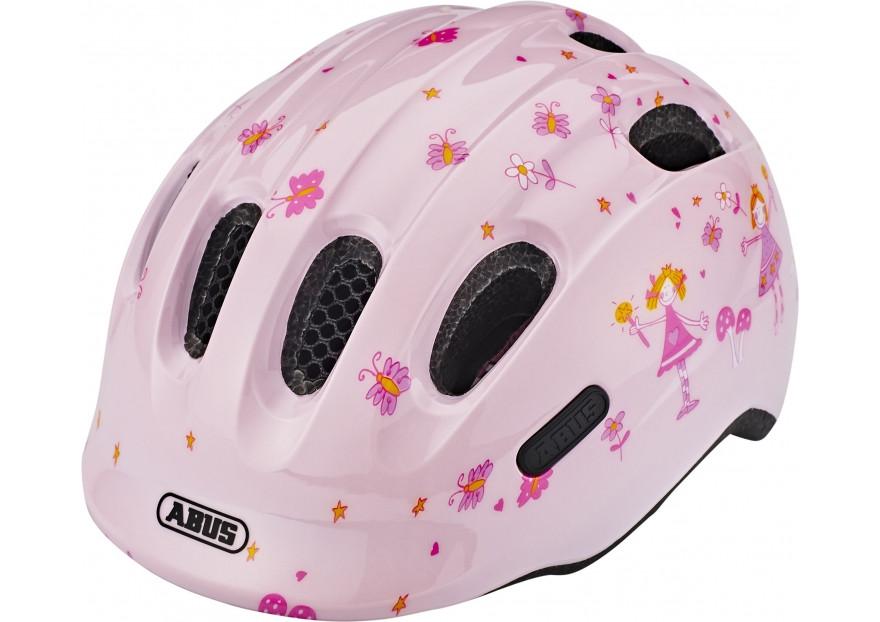 Велошлем детский ABUS Smiley 2.0 Rose Princess, S (45-50 см)