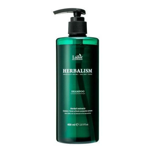 Шампунь успокаивающий с травяными экстрактами La'dor Herbalism Shampoo (400ml)
