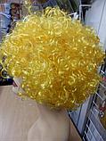 Кучерявий Парик жовтий, фото 2