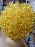 Кучерявий Парик жовтий, фото 3