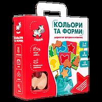 Настольная игра Vladi Toys Фигуры в мешочке. Цвета и формы