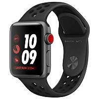 Силиконовый ремешок Sport Nike+ для Apple watch 38mm / 40mm