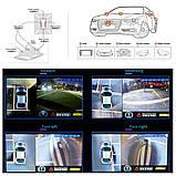 Парковочная система кругового обзора на 360° Видеопарктроник Around View видеопарковка с ночным видением, фото 6